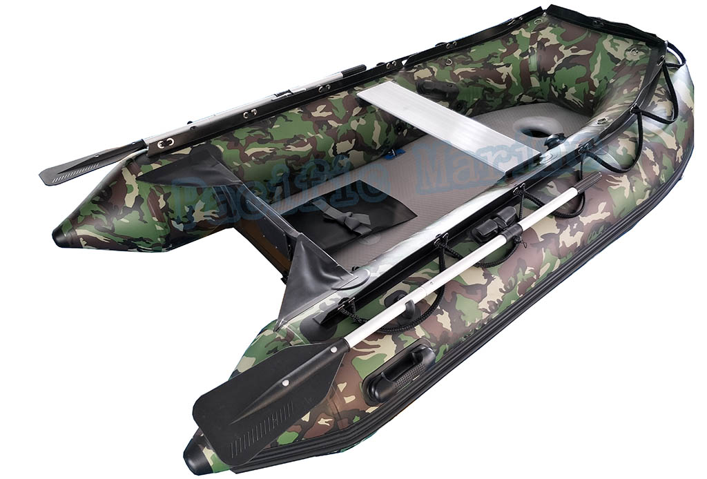 3.2 meter Roll Up Inflatable Boat with Aluminium Floor