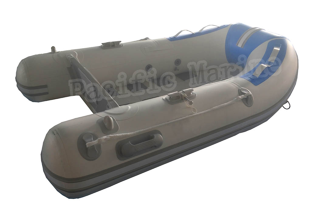 2.4 meters Roll Up Inflatable Boat with Aluminium Floor