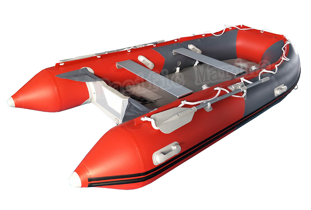 3.8 meters Roll Up Inflatable Boat with Aluminium Floor