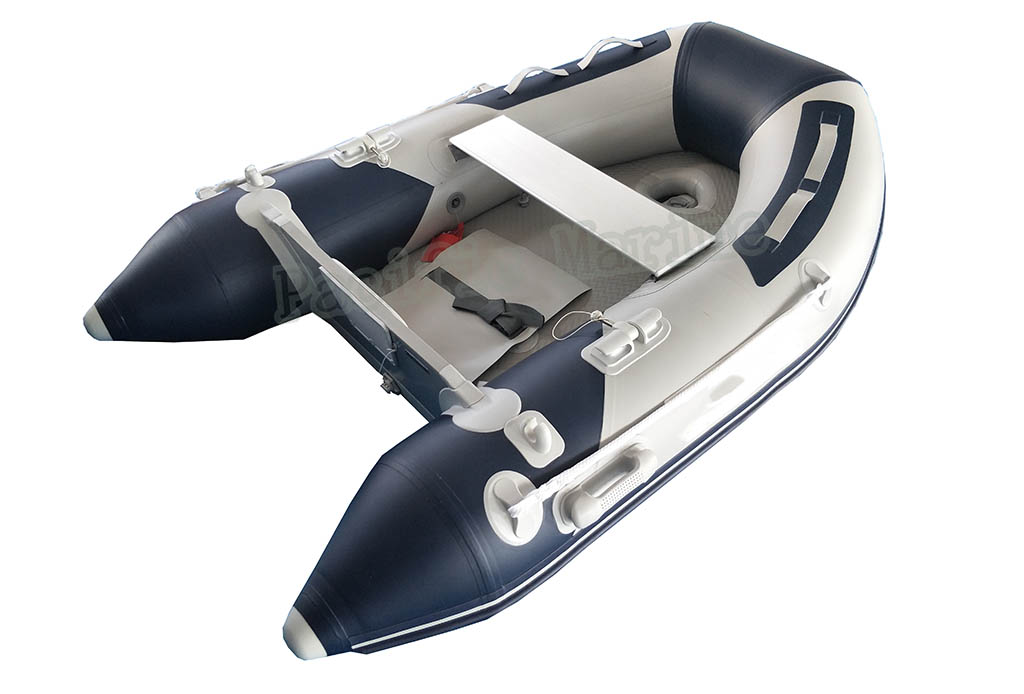 2 meters Roll Up Inflatable Boat with Plywood Floor